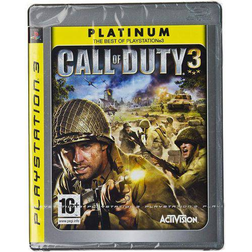 Call Of Duty 3 Platinum - Ps3
