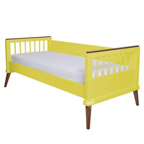 Cama Babá Âmbar Amarela Sleeper