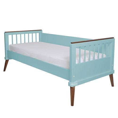 Cama Babá Âmbar Azul Turquesa Sleeper