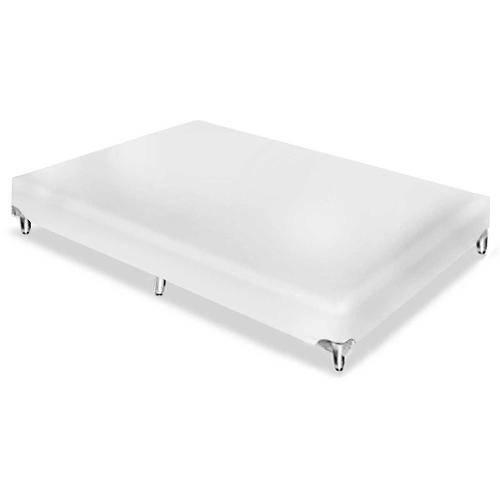 Cama Box Base Ortobom Americana Couríno Bianco - Solteiro - 0,88x1,88x0,23