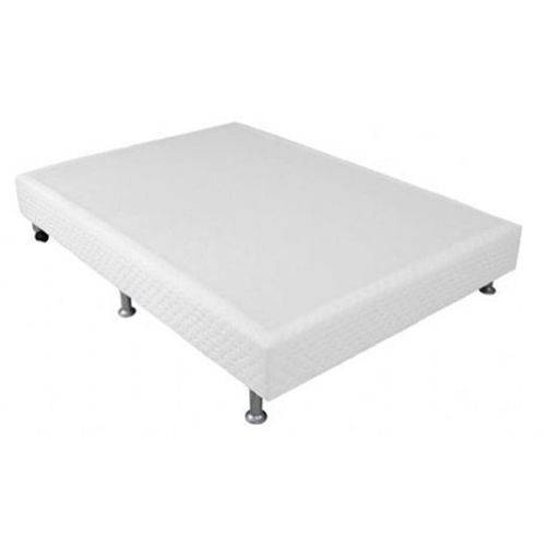Cama Box Base Ortobom Physical Branco 20 - Casal - 1,38x1,88x0,20