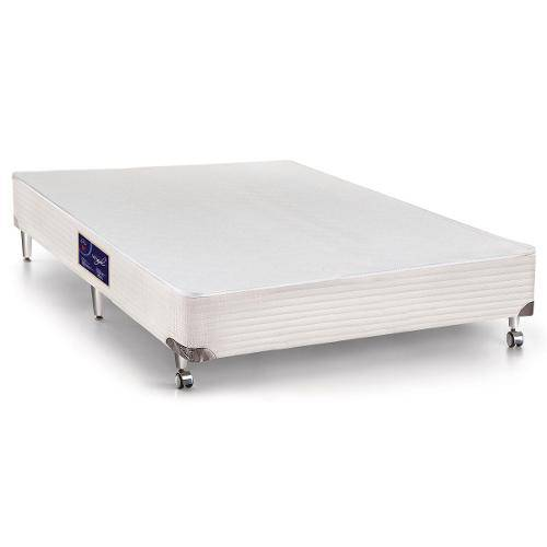 Cama Box Castor Si Gold Star Vitagel - Queen Size - 1,58 - (2vol. 0,79x1,98x0,23)