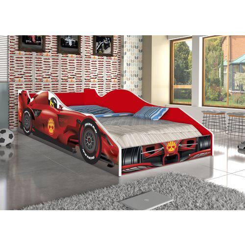 Cama Infantil / MIni Cama Car F1 RPM - Fórmula 1 - Vermelha