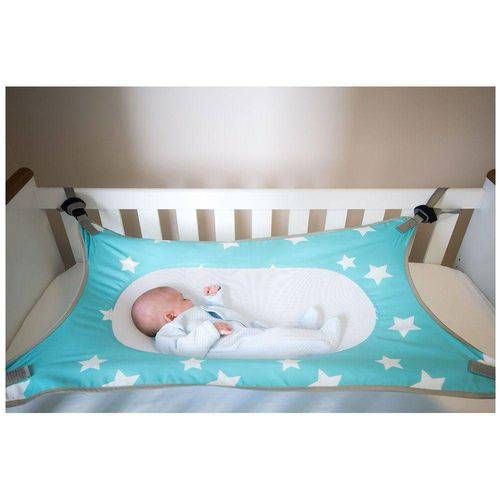 Cama Segura para Bebê Primeiro Sono Verde Baby Pil 99030v