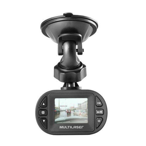 Câmera Automotiva Dvr HD 1080p Au013 Preta Multilaser