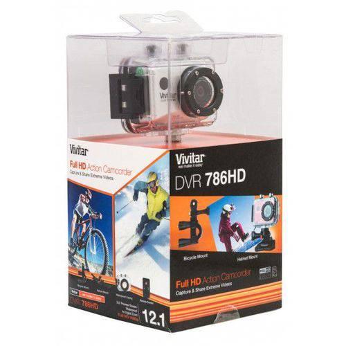 Câmera de Ação e Aventura Digital Full-HD 1080p 4x Zoom 12.1mp Sup Micro Sd Até 32gb Controle Remoto