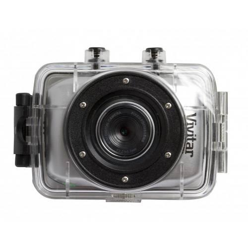 Câmera de Ação Full Hd com Caixa Estanque, Controle Remoto e Suportes - Vivitar