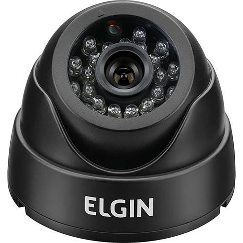 Câmera de Segurança Dome 600TVL Elgin Lente 3.6mm - Preta
