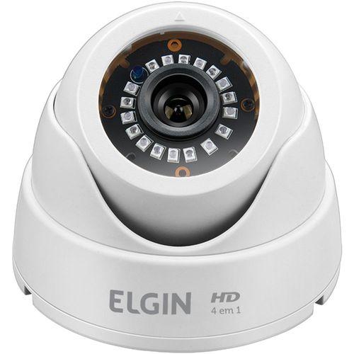 Câmera de Segurança Infravermelho Interna Elgin Dome AHD Branca 42C41IM22B00