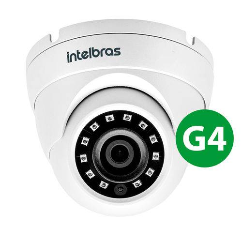 Camera Dome Vhd 3220 D G4 Multi-HD Ir 20 3,6mm Resolucao Full HD Intelbras