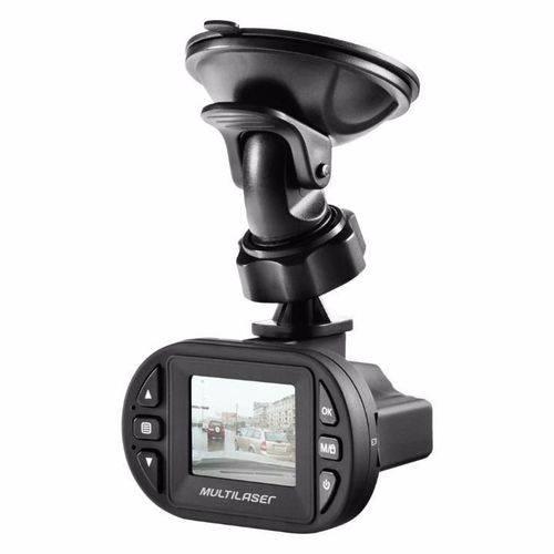 Camera Filmadora Automotiva Dvr HD Veicular Multilaser Au013