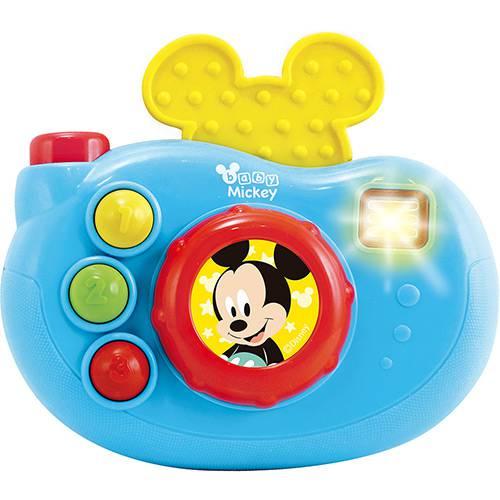Câmera Fotográfica Musical Disney Baby Mickey