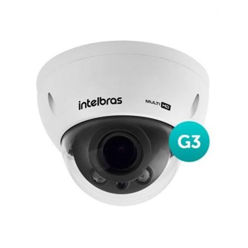 Camera Hdcvi Dome Vhd 3230 D Varifocal Geração 3 2,7-12mm 30m 1080p Full Hd - Intelbras
