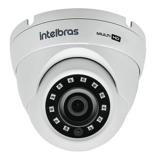 Câmera Multi Hd 4x1 Infra Red Dome 3,6mm VHD3220D 4565233 Intelbras
