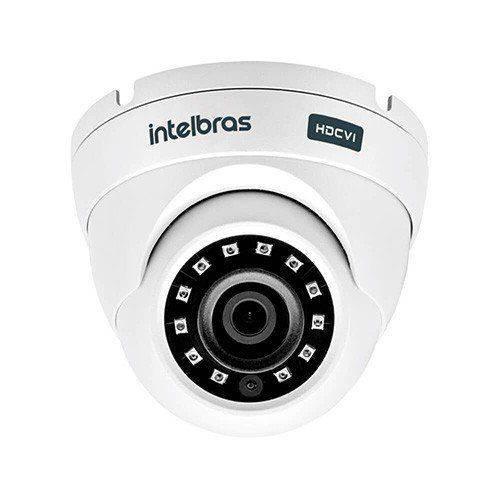 Câmera Multi-HD Intelbras Vhd 3120d - Ir , Dome Interna/ Externa, 20m de Infravermelho