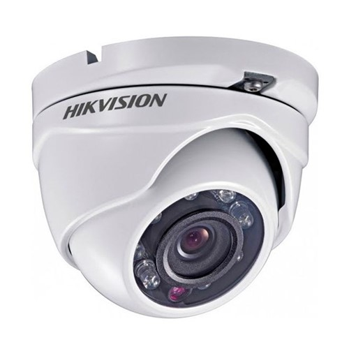 Câmera Turbo Hd 3.0 Infra Red Dome 1080p/2mpir 20m 3.6mm DS-2CE56D0T-IRM Hikvision