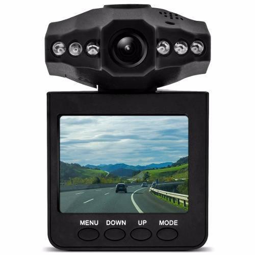 Camera Veicular Hd Dvr Portátil 2,5 Tft Lcd Visão Noturna
