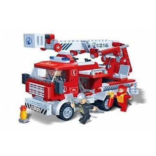 Caminhão de Bombeiros Incêndio 290 Peças - Banbao