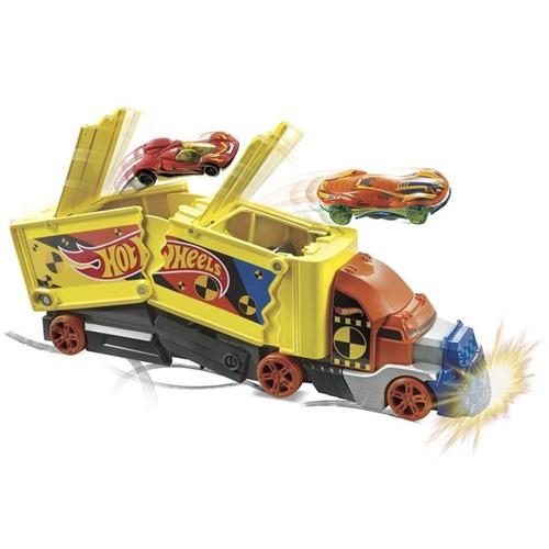 Caminhão Hot Wheels Ação de Batidas GCK39 Mattel Colorido