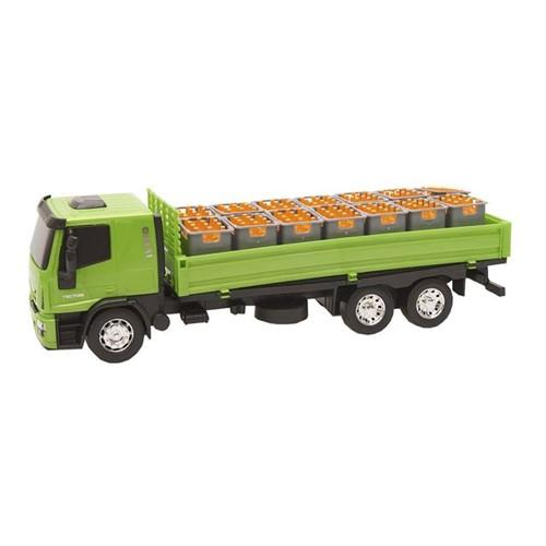 Caminhão Iveco Tector 341 Usual Brinquedos Verde Verde