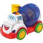 Caminhão Mix Ball Azul Cabine Branca - Calesita