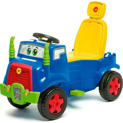 Caminhão Mk Truck Azul Pedal 982 - Calesita