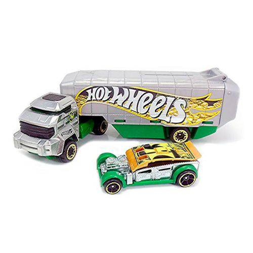 Caminhão Transportador Hot Wheels - Bank Roller - Mattel