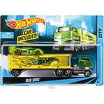 Caminhão Transportador Hot Wheels Rig Dog Mattel
