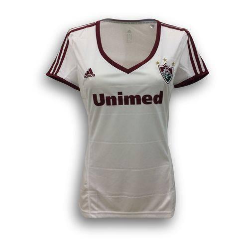 Camisa Adidas Fluminense II 2013 Feminina Branca