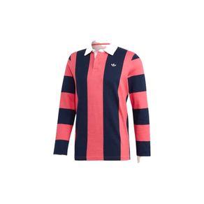Camisa Adidas Polo Rúgbi Azul+rosa Homem M