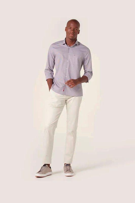 Camisa Aramis Menswear Micro Xadrez Azul Tam. M