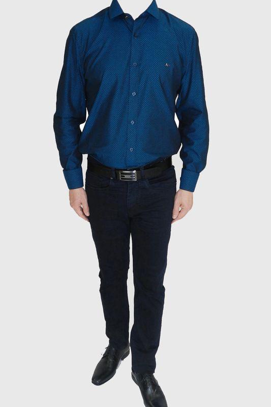 Camisa Aramis Snight Azul Tam. M