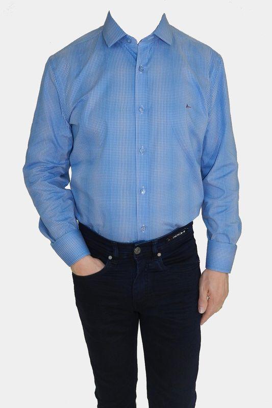 Camisa Aramis Super Slim Azul Tam. M