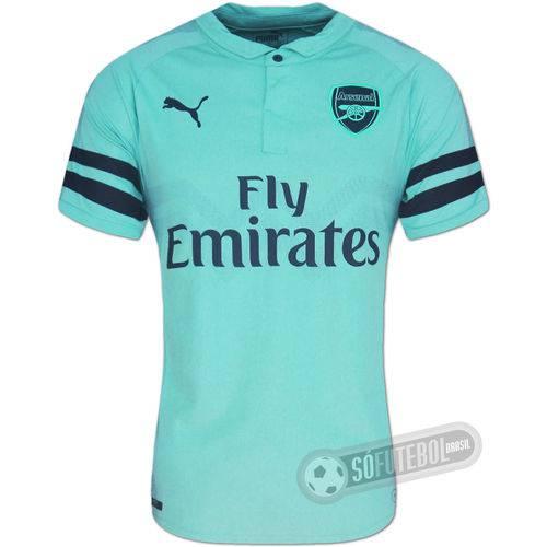 Camisa Arsenal - Modelo Iii