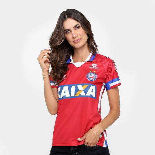Camisa Bahia Iii 17/18 S/n° - Torcedor Umbro Feminina