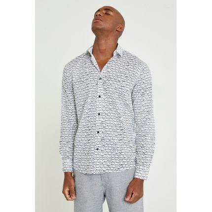 Camisa Bik Manga Longa P - Branco