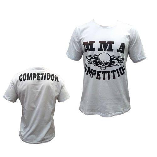 Camisa/Camiseta - MMA Competition- Branco - Duelo Fight .
