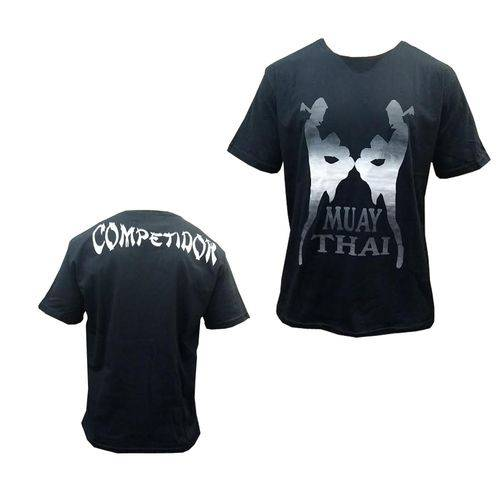 Camisa Camiseta Muay Thai Flying Knee - Duelo Fight .