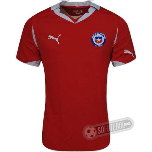 Camisa Chile - Modelo I