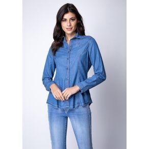 Camisa Comfort Azul GG