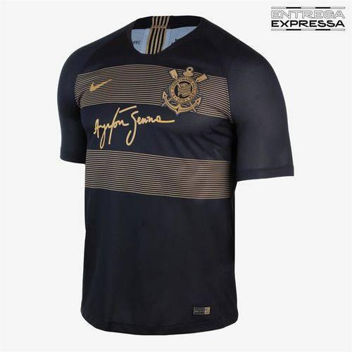Camisa Corinthians Iii Oficial Torcedor 2018/19 Tamanho G Original