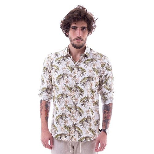 Camisa Drazzo M/l Tarsila M