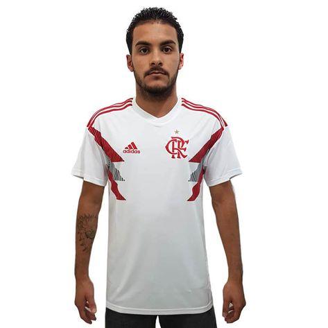 Camisa Flamengo 1 Pré-Jogo Adidas 2018 GG