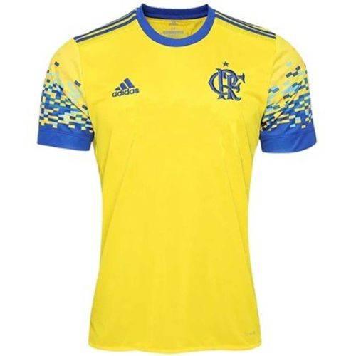 Camisa Flamengo Adidas Amarela III 2017 2018 - DQ0865
