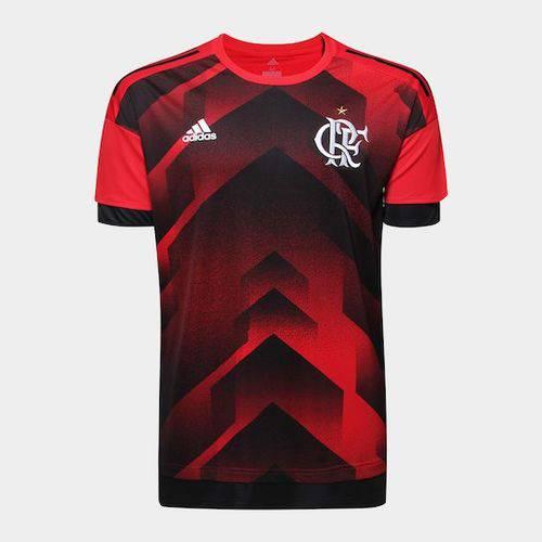 Camisa Flamengo Adidas Pré-Jogo 2017 2018 - BS2578