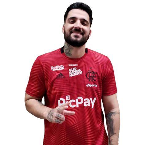 Camisa Flamengo ESports Adidas 2019 P