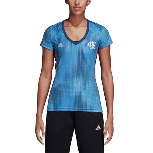 Camisa Flamengo Feminina Jogo 3 Adidas 2018 G