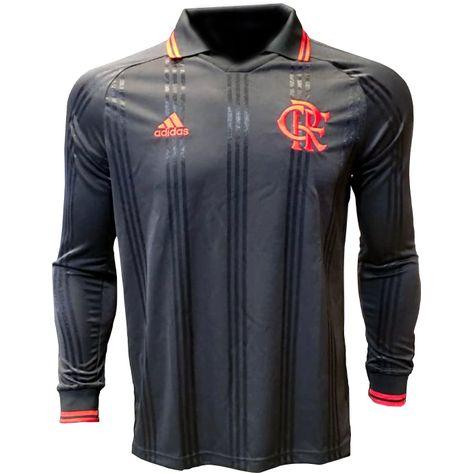 Camisa Flamengo Icon Adidas 2019 GG