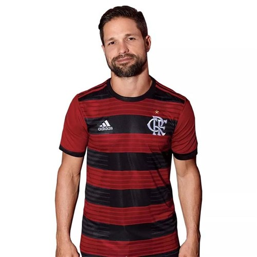 Camisa Flamengo Jogo 1 Adidas 2018 XXG