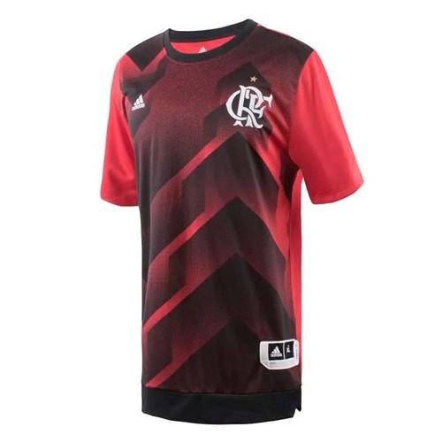 Camisa Flamengo Pré-Jogo 1 Adidas 2017 GG